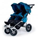 Прогулочная коляска для двойни TFK Twinner Twist Duo. Характеристики.