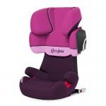 Автокресло 15-36 кг Cybex Solution X2-fix purple rain. Увеличить фотографию.