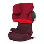Автокресло 15-36 кг Cybex Solution X2-fix rumba red. Увеличить фотографию.