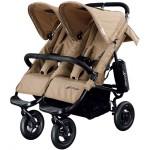 Прогулочная коляска для двойни Airbuggy Coco Double. Характеристики.